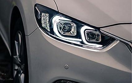 Amazon Com Gowe Mazda 6 Headlights 2015 New Mazda6 Atenza Led