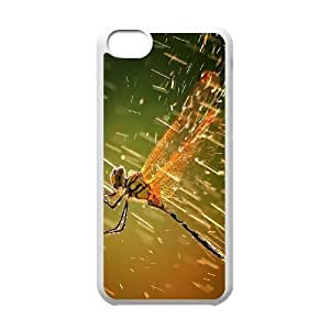 Custom New Cover Case for Iphone 5C, Dragonfly Phone Case - HL-R668532