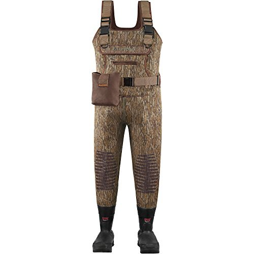 - Lacrosse Waders Swamp Tuff Mossy Oak Bottomland 1200G (700126)| Waterproof | Insulated Modern Comfortable Hunting Combat Boot Best for Mud, Snow (King = 13)
