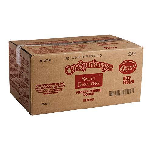 Otis Spunkmeyer Sweet Discovery Frozen Butter Sugar Cookie Dough 1.33 oz Pack of 240 by Otis Spunkmeyer (Image #2)
