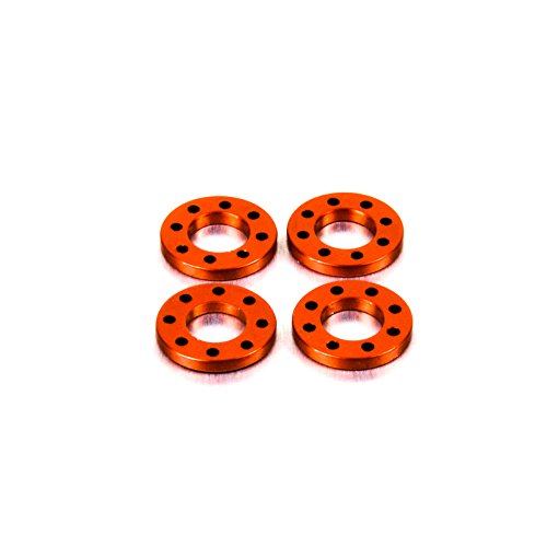 Aluminium Drilled Washer M8 Orange: