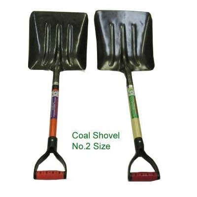 Steel Coal Shovel with Wood Handle : Garden & Outdoor
