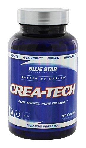 Blue Star Nutraceuticals Crea-Tech, 120 Capsules