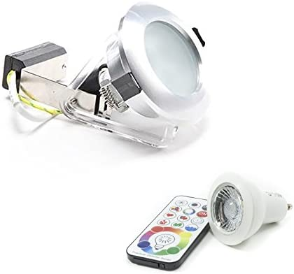 Strahler Wasserdicht IP65Dusche Bad Lampe LED GU106W RGBW Farbtherapie