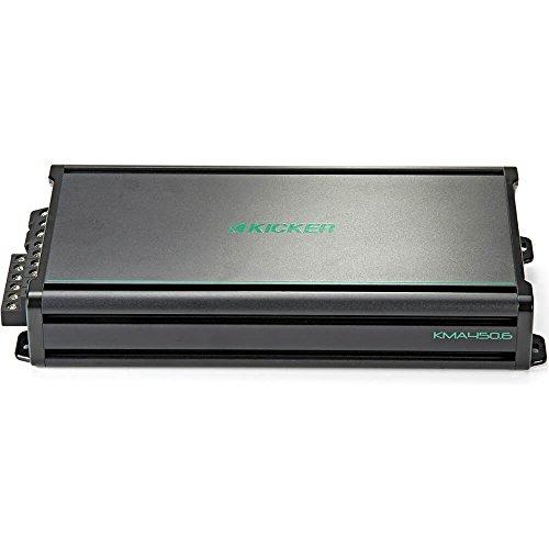 - KICKER 45KMA4506 450w 6-Channel Marine Boat Amplifier 2-ohm+Action Cam KMA450.6
