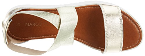 pettine alla argento cinturino Premio in caviglia con Sandalo platino donna da Marco 28361 Tozzi wYZqq6P