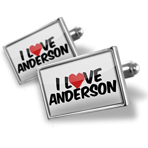 erson - Neonblond (Anderson Silver Cufflinks)