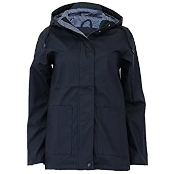 aa681ecbc Brave Soul Ladies Womens Rain Coat Designer PU PVC Hoodie Parka Jacket  Lined New
