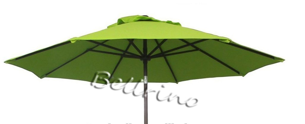 BELLRINO DECOR Replacement SAGE GREEN '' STRONG & THICK '' Umbrella Canopy for 9ft 6 Ribs SAGE GREEN (Canopy Only)