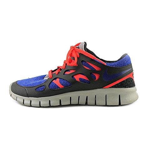 Nike Dames Vrije Loop + 2 Extra Loopschoen Donker Royal, Zwart, Grijs