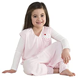HALO Big Kids SleepSack Lightweight Knit Wearable Blanket, Pink, 2-3T