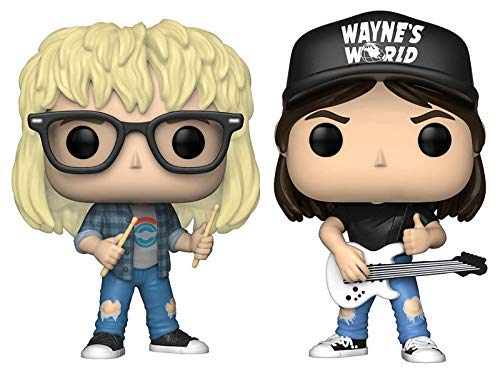Funko Pop! Movies: Wayne's World Collectible Vinyl Figures, 3.75