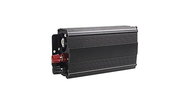 Bolange Convertidor De Inversor De Autom/óvil Port/átil 3000W Dc12V A Ac220V RV Recogida Recorrido para Acampar Negro