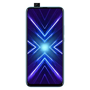 Honor 9X (Sapphire Blue, 6+128GB Storage) -Pop up Front Camera & 48MP Triple Rear Camera