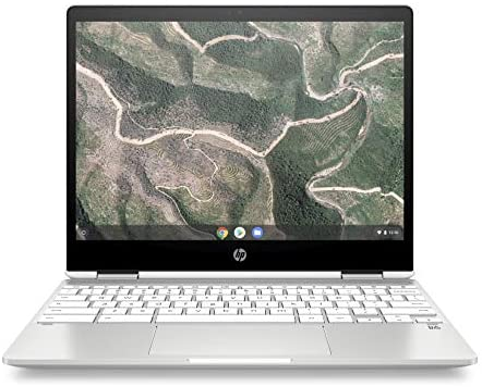 HP Chromebook X360 12-Inch HD+ Touchscreen Laptop, Intel Celeron N4000, 4. GB SDRAM, 32 GB eMMC, Chrome (12b-ca0010nr, Ceramic White)