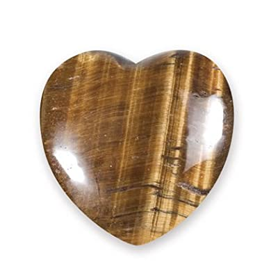 Tiger Eye Mini Crystal Heart - 2.5cm