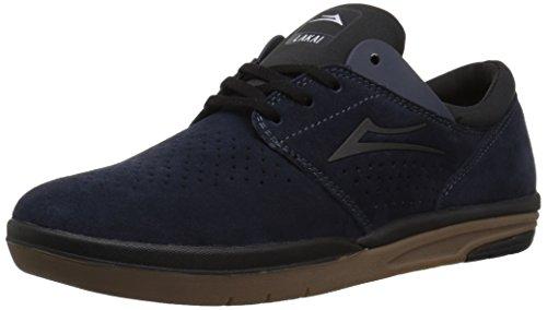 - Lakai Men's Fremont Skate Shoe, Midnight Suede, 8 M US