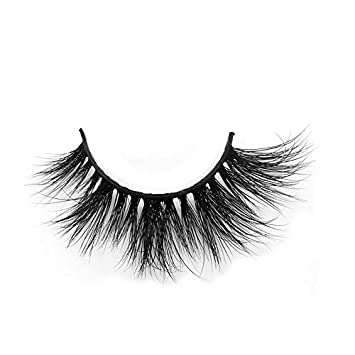 416b41dec88 Amazon.com : Best 3D Mink Fur Lashes 3D Mink False Eyelash Thick False Mink  Gorgeous Mink Lashes New Design Luxury Mink Strip Lashes Cruelty Free 1  Pair ...