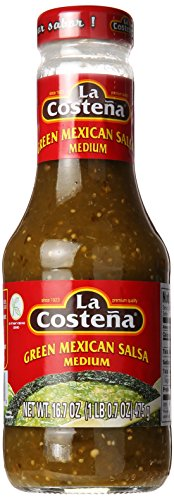 La Costena Green Medium Mexican Salsa, 16.7 oz Green Tomatoes Salsa
