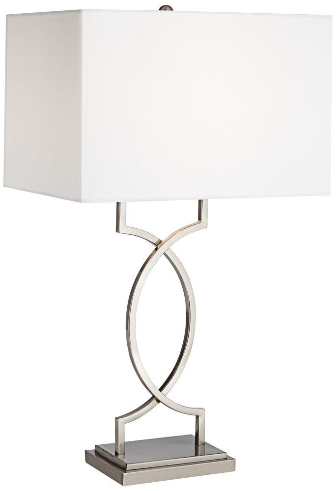Pacific Coast Lighting Modern Elegance Table Lamp in Nickel