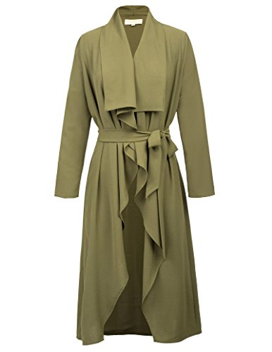 Lightweight Belted Trench Coat - 9