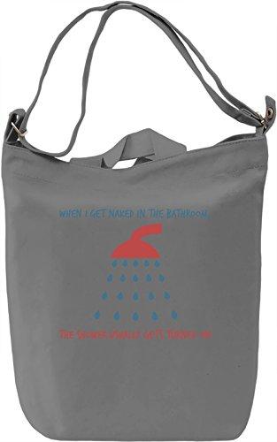 Shower pun Borsa Giornaliera Canvas Canvas Day Bag| 100% Premium Cotton Canvas| DTG Printing|
