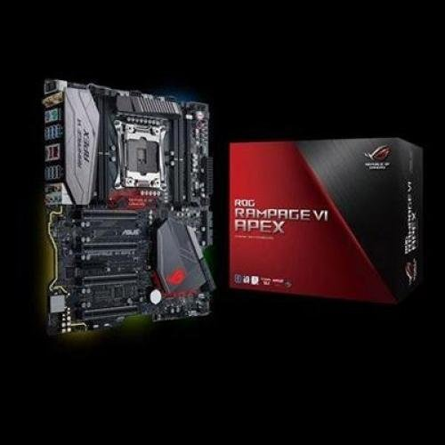 ASUS ROG RAMPAGE VI APEX LGA2066 DDR4 M.2 X299 EATX Motherboard with Onboard AC Wi-Fi and USB 3.1 by Asus