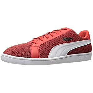 PUMA Men's Smash Knit Fashion Sneaker