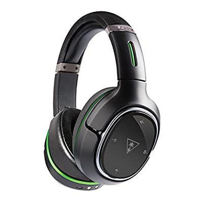 Turtle Beach Ear Force Elite 800X Premium Fully Wireless Gaming Headset with DTS Headphone:X 7.1 Surround Sound, Noise Cancellation, Superhuman Hearing, and Mic Monitoring for Xbox One and Mobile Devices (TBS-2390-01)