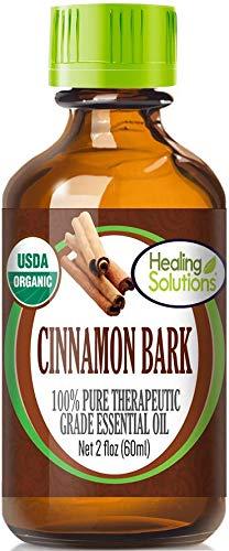 Organic Cinnamon Bark Essential Oil (100% Pure - USDA Certified Organic) Best Therapeutic Grade Essential Oil - 60ml ()