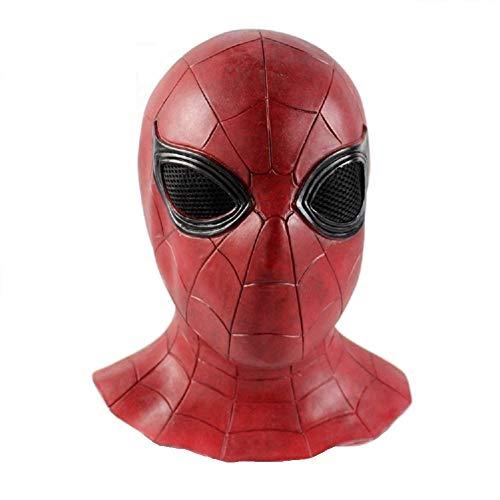 Novelty The Avengers Spiderman Hero Full Head Face Cover Latex Custom Cosplay Hood Mask -