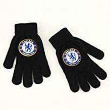 Chelsea FC Official Products Knitted Gloves Junior