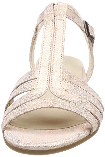 Gabor Comfort Sport, Sandali con Cinturino Alla Caviglia Donna Multicolore (Corallo)