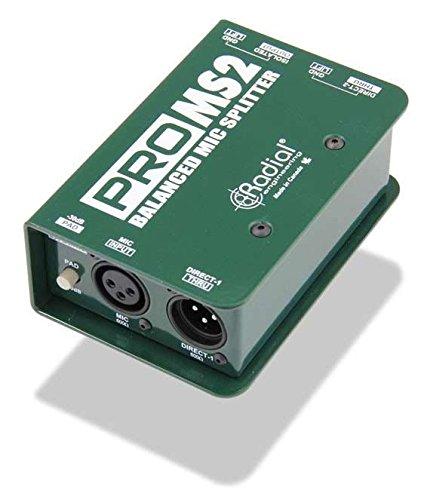 Mic Splitter Transformer - Radial ProMS2 Passive Microphone Splitter