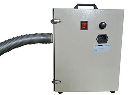 110V 370W White Dental Lab Dust Collector Vacuum Cleaner Polisher (Item#160545) ASC365
