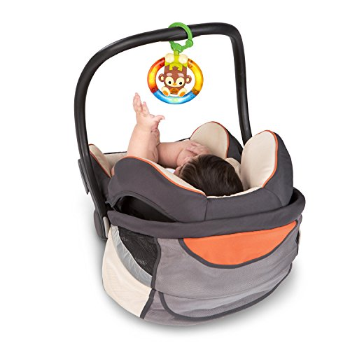 85%OFF Bright Starts Shake & Glow Monkey Car Seat and Stroller ...
