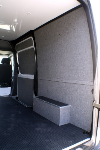 2007 + SPRINTER VAN tapizado Kit de maletero de pared (144