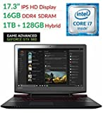 Lenovo Ideapad Y700 17.3' FHD Flagship High Performance Gaming Laptop PC | Intel Core i7-6700HQ | 16GB RAM | 1TB+128GSSD | NVIDIA GeForce GTX 960M with 4GB | Backlit Keyboard | Windows 10
