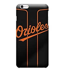 Allan Diy iPhone 6 Plus case cover, MLB - Baltimore Orioles AlternateAway Jersey - iPhone 6 Plus case cover - High ekMGxf9lenc Quality PC case cover
