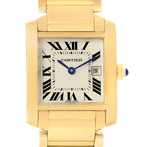 Cartier Tank Francaise Quartz Female Watch W50014N2 (Certified Pre-Owned)