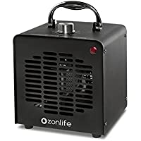 Ozonlife Commercial Ozone Generator – 10,000 mg/h | Professional O3 Air Purifier, Ozonator and Ionizer | Heavy Duty Air Cleaner, Deodorizer and Sterilizer | Best for Odor Stop Control