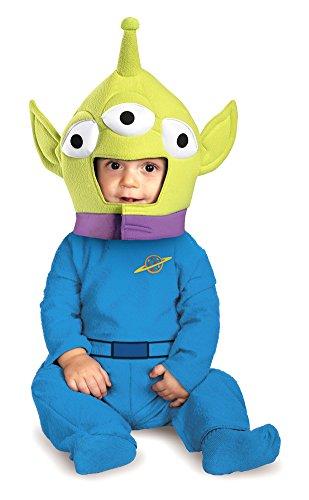 DISC0UNTST0RE Unisex-Baby - Alien Classic Toddler Costume 12-18Mths Halloween Costume -