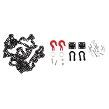 MonkeyJack RC Crawler 1:10 Tow Hook Trailer Chain Shackle Bracket For Axial SCX10 RC4wd