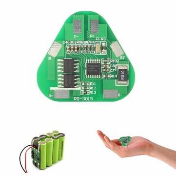 Arduino Compatible SCM & DIY Kits Module Board - 4A 3S Li-ion Battery Protection Circuit Board Three Cell - 1 x 3S Li-ion Lithium Battery Protection Circuit Board ()