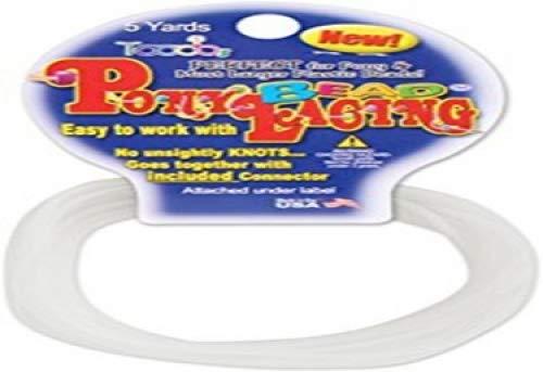Pepperell Pony Bead Lacing 5 Yards Hank Iridescent ()