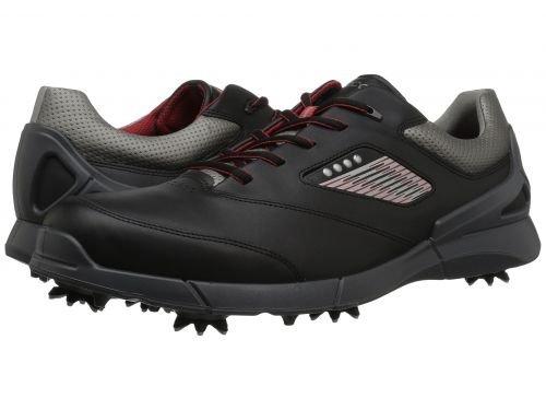 ECCO Golf(エコー ゴルフ) メンズ 男性用 シューズ 靴 スニーカー 運動靴 Base One Hydromax - Black/Steel [並行輸入品] B07BMNQDZT 41 (US Men's 7-7.5) D - Medium