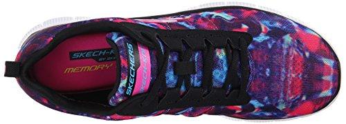 de Deporte Skechers Rays Cosmic Appeal Bkmt Flex Zapatillas Mujer wgPSqZUg
