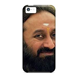 New Style RichJWen Hard Case Cover For Iphone 5c- Sri Sri