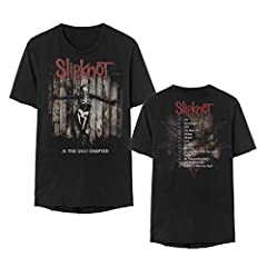 Exclusive SlipKnot .5 The Gray Chapter Album T-Shirt