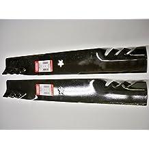 Set of 2, Longer Life 596-900 Gator Fusion G5 3-In-1 Mulching Blades to Replace 134149, 532134149, 139775, 532139775, 138971, 138498, 127843: Craftsman, Poulan, Husqvarna, Made in USA